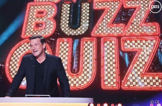 "Benjamin Castaldi présente ""Big Buzz Quizz"" sur C8."