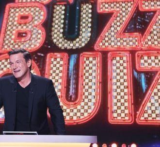 Benjamin Castaldi présente 'Big Buzz Quizz' sur C8.