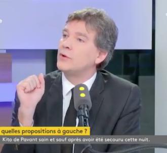 Arnaud Montebourg, sur franceinfo.