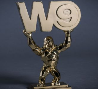 Un W9 d'or imaginé par Richard Orlinski