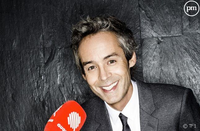 """""""Quotidien"""" sur TF1."""
