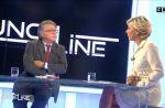 """Accrochage surréaliste entre Gilbert Collard et Laurence Ferrari dans """"Punchline"""""""
