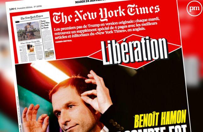 """Un cahier du """"New York Times"""" intégré à """"Libération"""" chaque mardi."""