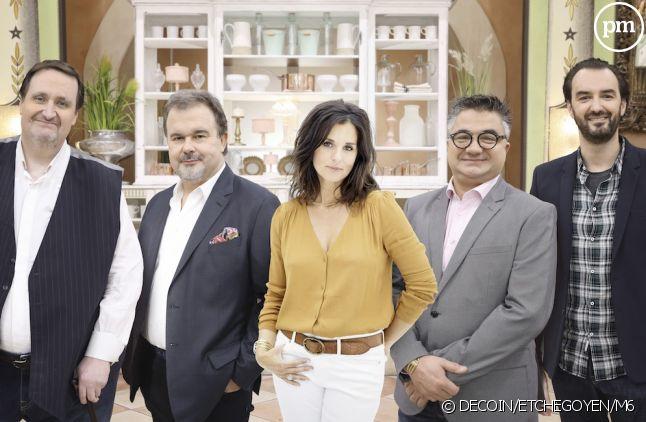 """Faustine Bollaert et le jury du """"Meilleur Pâtissier : Les professionnels"""""""