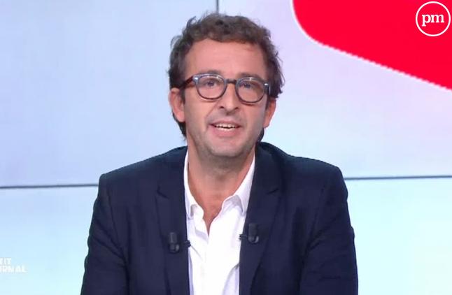 Cyrille Eldin, sur Canal+.