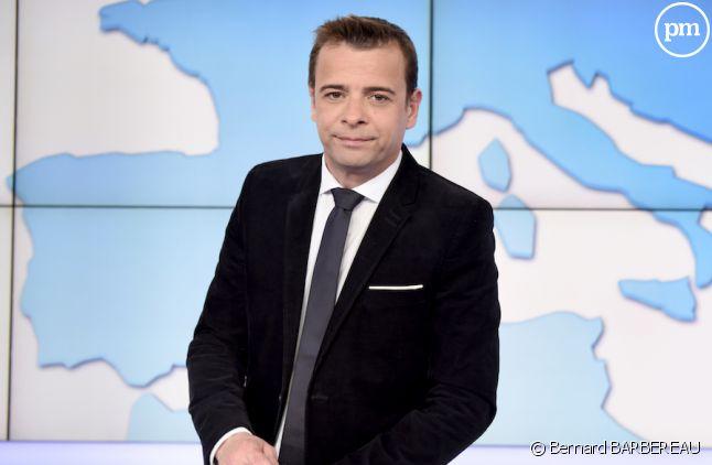 """David Boéri, présentateur du """"19/20"""" sur France 3"""