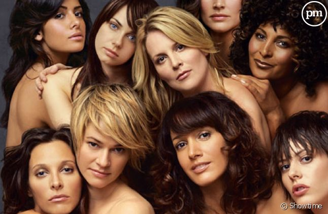"Le cast de ""The L Word"""