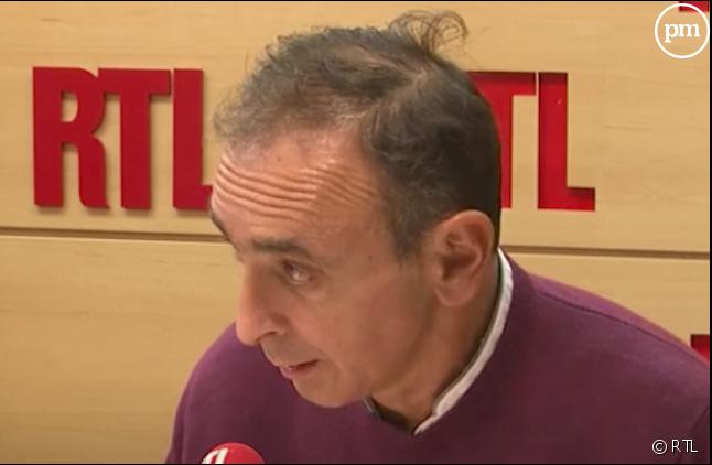 Eric Zemmour sur RTL (Capture)
