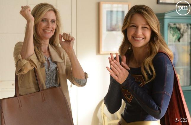 """""""Supergirl"""" en baisse sur TF1"""