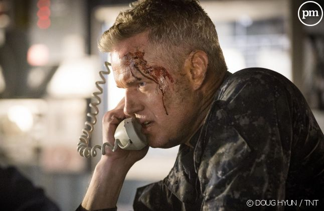 "Eric Dane dans la saison 3 de ""The Last Ship""."