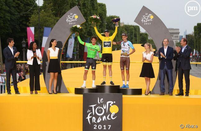 Le Tour de France 2017 remporté par Christopher Froome.