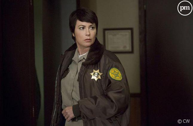 "Kim Rhodes, actrice principale du spin-off ""Wayward Sisters""."