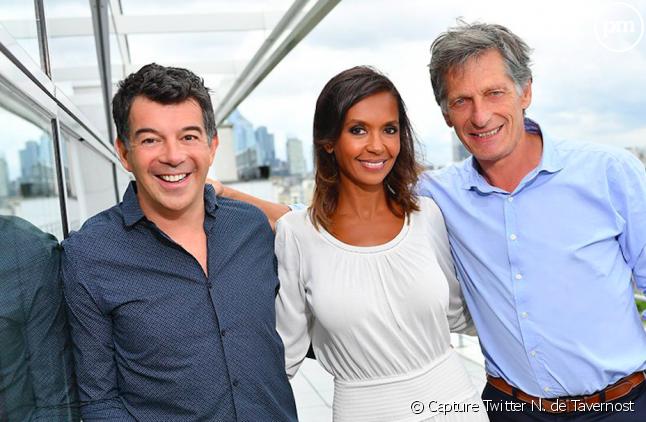 Stéphane Plaza, Karine Le Marchand et Nicolas de Tavernost