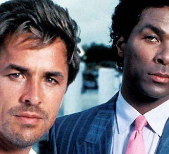 <span>Don Johnson et Philip Michael Thomas dans 'Deux...