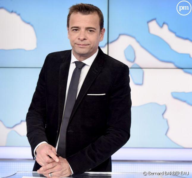 """David Boeri, """"19/20 national"""" de France 3."""