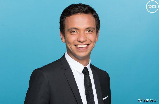 "Djamel Mazi, présentateur joker du ""19/20"" week-end."