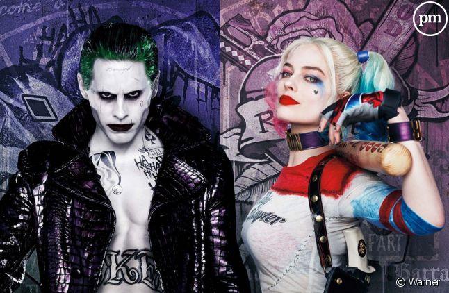 "Jared Leto et Margot Robbie dans ""Suicide Squad"""
