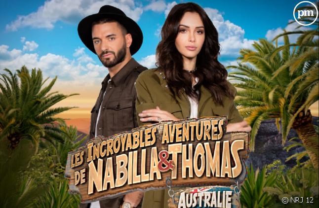 """""""Les incroyables aventures de Nabilla et Thomas"""" sur NRJ 12"""