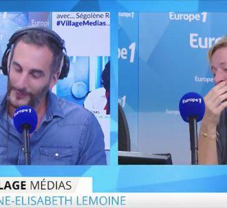 Matthieu Noël et Anne-Elisabeth Lemoine sur Europe 1