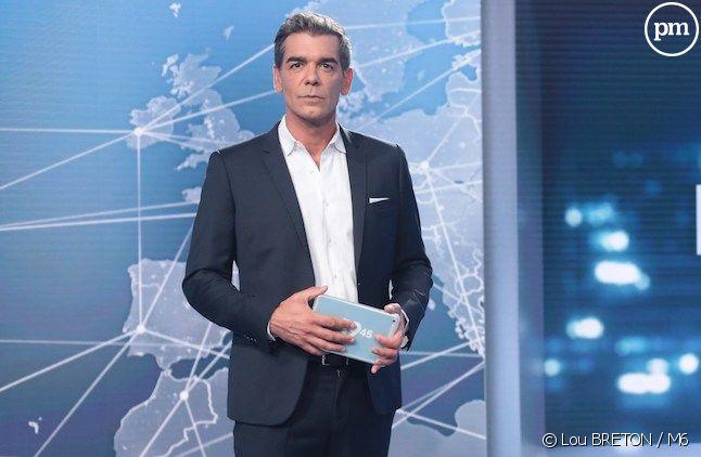"""Xavier de Moulins présente """"Le 19.45"""" sur M6"""