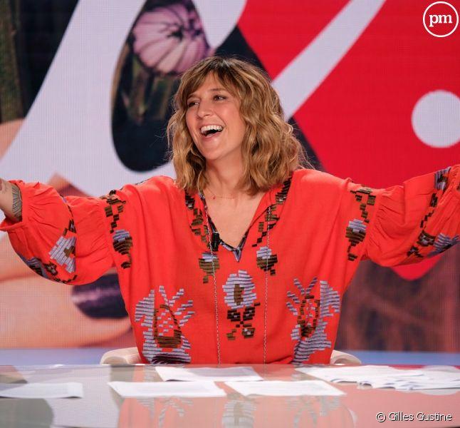 """Daphné Bürki présente """"Je t'aime, etc."""" sur France 2."""