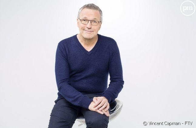 """Laurent Ruquier a animé pour la première fois """"Les enfants de la télé""""."""