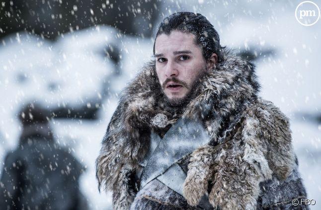 "Kit Harington (Jon Snow) dans ""Game of Thrones"""