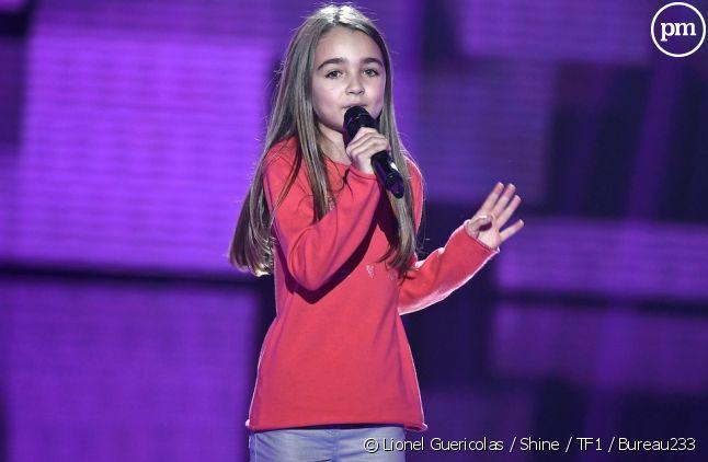 "Angelina, gagnante de ""The Voice Kids"" saison 4"