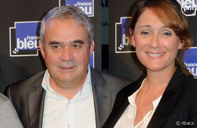 Claude Esclatine, aux côtés de <span>Daniela Lumbroso.</span>
