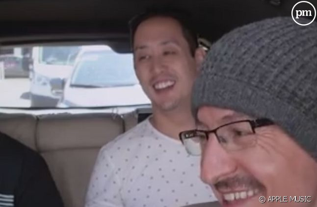 "Chester Bennington dans le ""Carpool Karaoke"""
