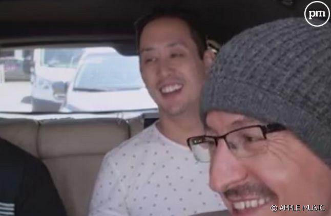 "Chester Bennington dans le ""Carpool Karaoke"""