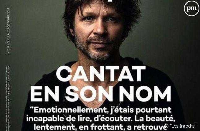 """La Une des """"Inrocks"""" consacrée à Bertrand Cantat."""
