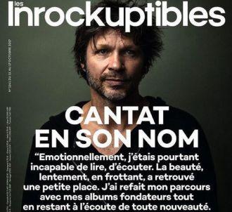 La Une des 'Inrocks' consacrée à Bertrand Cantat.