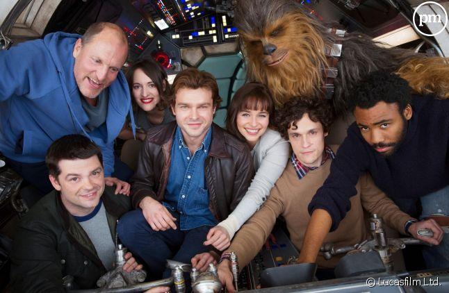"""L'équipe de """"Solo : A Star Wars Story"""""""