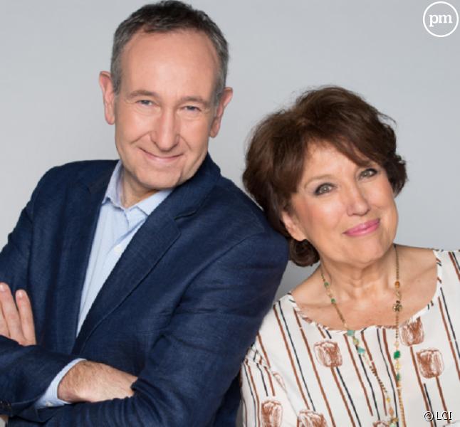 Laurent Bazin et Roselyne Bachelot