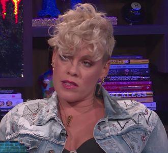 Pink évoque sa relation avec Christina Aguilera