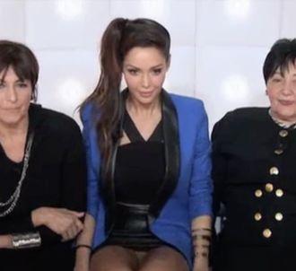 Nabilla sans culotte dans 'La Boîte à Questions'