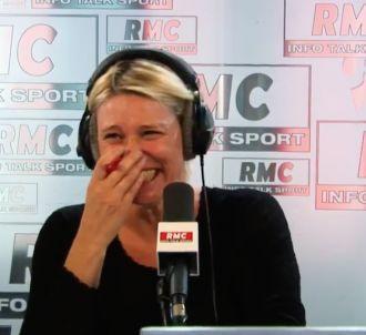 Le fou rire de Maïtena Biraben sur RMC