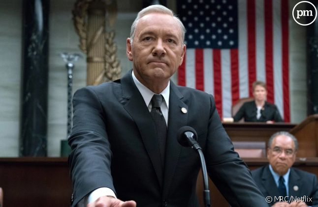 "Kevin Spacey dans ""House of Cards"" saison 5"