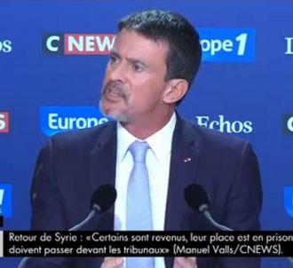 Manuel Valls accuse Edwy Plenel de 'complicité' avec...