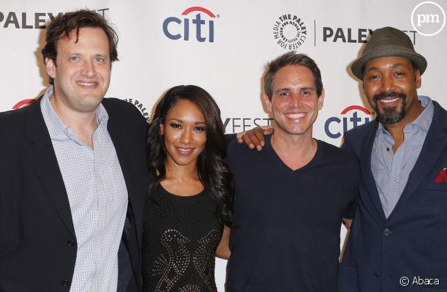 Le producteur Andrew Kreisberg (à gauche) doit faire face à de graves accusations