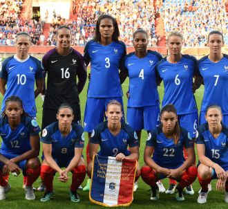 L'équipe de France en juillet 2017