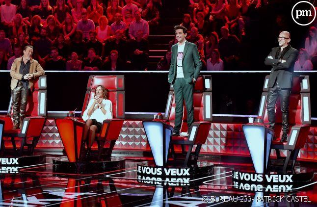 """Les coachs de """"The Voice"""" saison 7"""