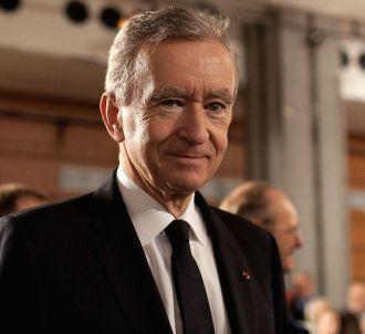 Bernard Arnault, PDG de LVMH.