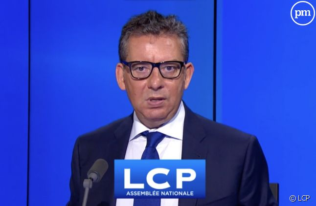 Frédéric Haziza, présentateur sur LCP.