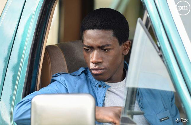 "Damson Idris interprète Franklin Saint dans ""Snowfall"""