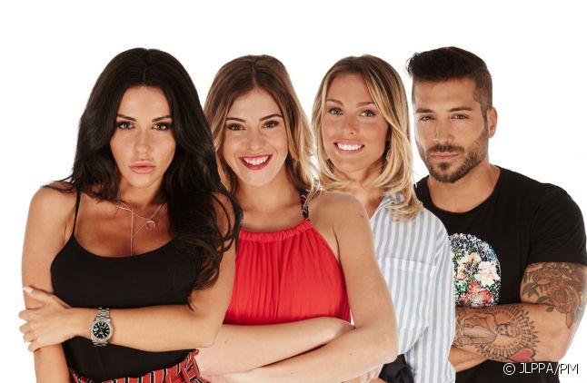 """Laura, Barbara, Charlène et Alain dans """"Secret Story 11"""""""