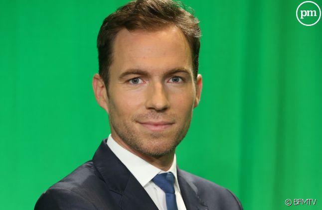 François Gapihan, présentateur de BFMTV.