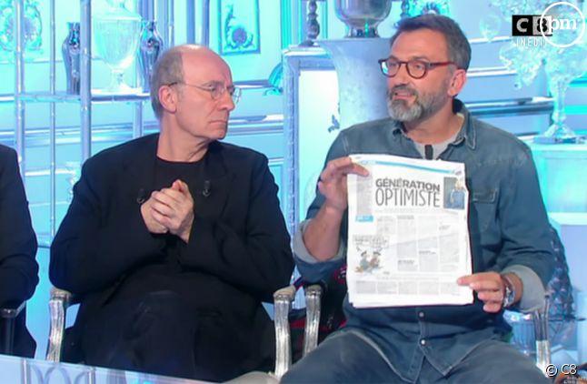 """Frédéric Lopez dans """"Salut les Terriens !"""" samedi dernier"""