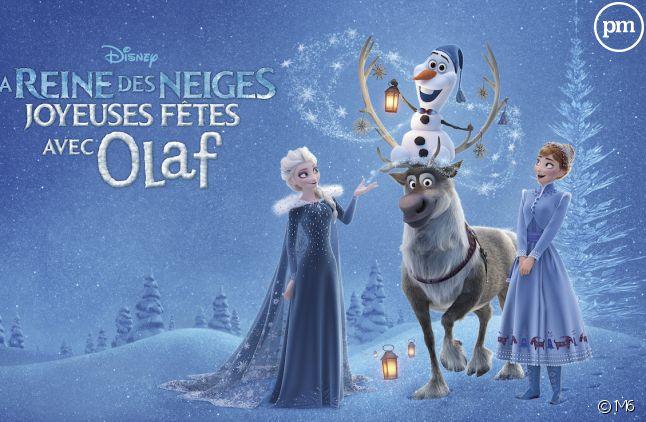 """Le moyen-métrage inédit issu de """"La reine des neiges"""" sera diffusé sur M6."""